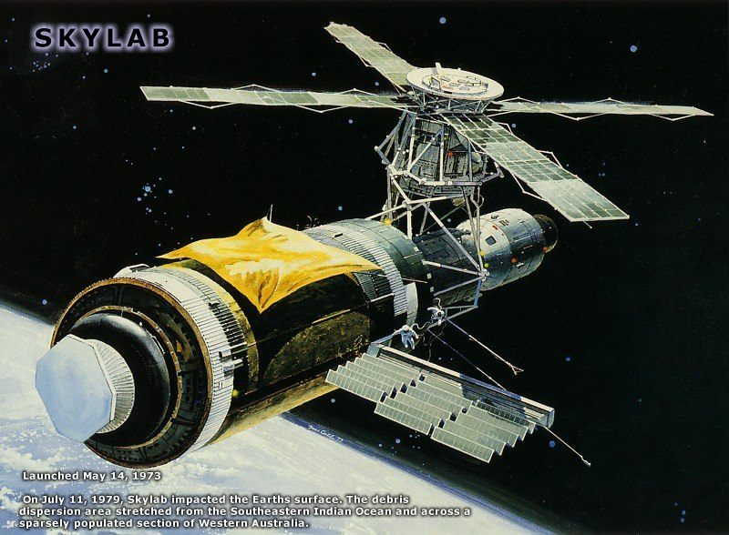Us Space Station Skylab - Pics about space